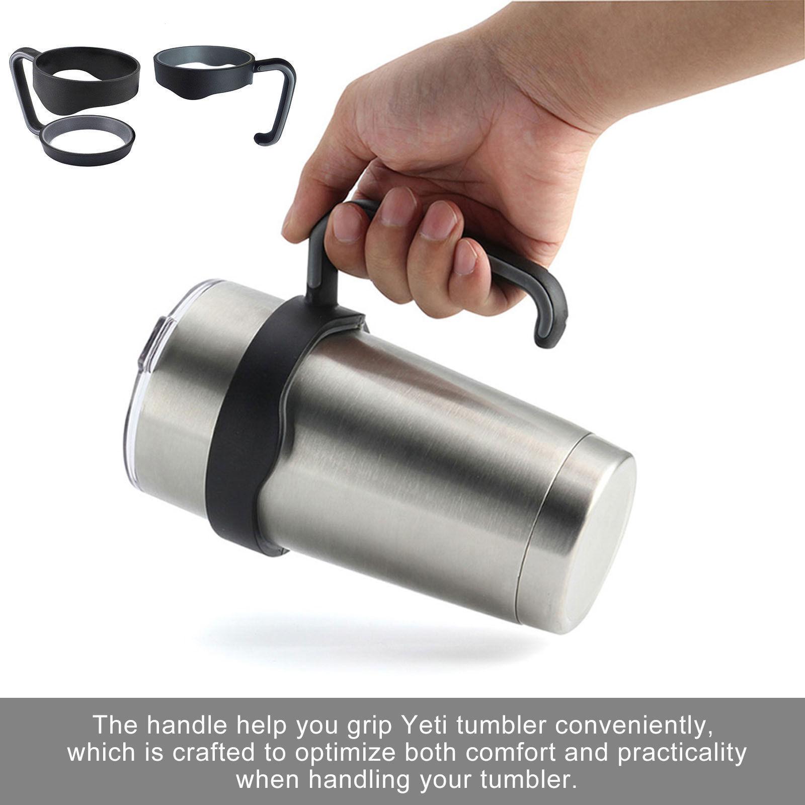 Handle-Lid-For-30Oz-YETI-RTIC-Ozark-Trail-Rambler-Sic-Tumbler-Travel-Cup-Holder thumbnail 3