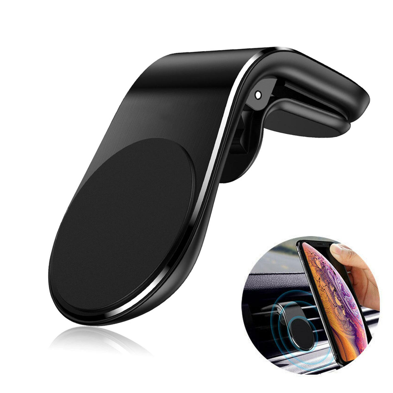 Universal Magnetic Phone Holder Bracket Clip Car Air Vent Fo